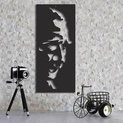 Dekorjinal MTK063 Atatürk Duvar Dekoru - 38x67 cm