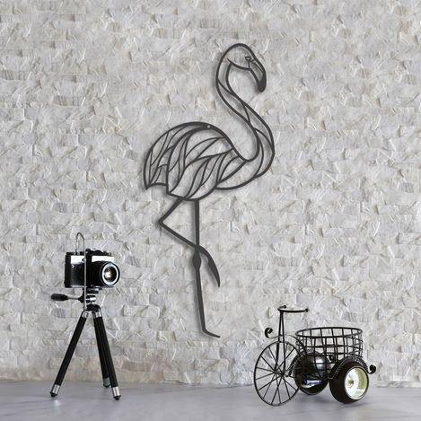 Resim  Dekorjinal MTK095 Flamingo Duvar Dekoru - 33x66 cm