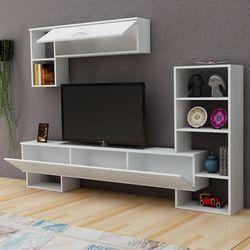 Derya Dekor Mega Tv Ünitesi - Beyaz