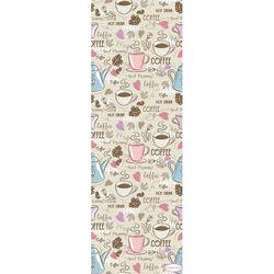 Confetti Coffee Yolluk (Pembe) - 100x100 cm