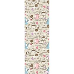 Confetti Coffee Yolluk (Pembe) - 160x160 cm