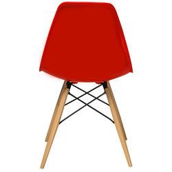 House Line LG-14 Legos Mona Masa Takımı (4 Sandalyeli) - Siyah/Kırmızı