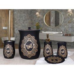 By Selim Butterfly 5'li Banyo Seti - Siyah
