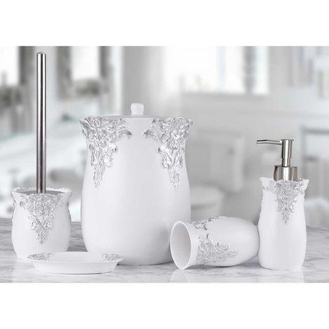 Resim  By Selim Dream 5'li Banyo Seti - Beyaz