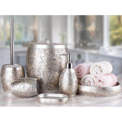 Resim  By Selim Hawaii 5'li Banyo Seti - Gümüş