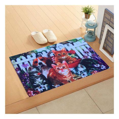 Giz Home BHKK2050 Trendy Kapı Önü Paspası - 45x75 cm