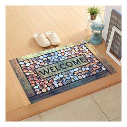 Giz Home WCTS2050 Trendy Kapı Önü Paspası - 45x75 cm