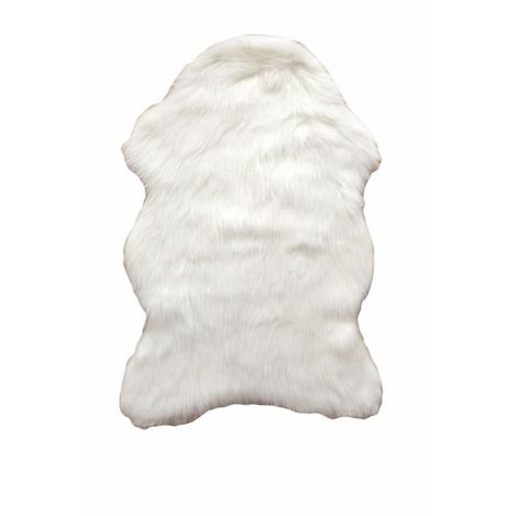 Resim  Giz Home Alaska Post Halı (Beyaz) - 60x90 cm
