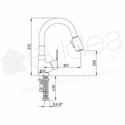 ECA Spil Spiralli Eviye Bataryası