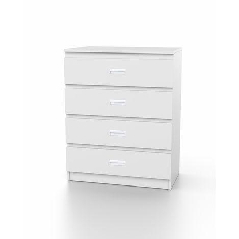 Resim  DSM Dizayn SFR101B 4 Çekmeceli Şifonyer - Beyaz