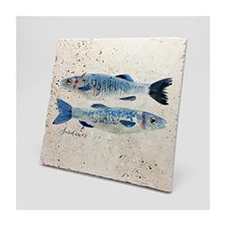 Jojo Tasarım JJDK-009 Sardines Duvar Panosu - 20x20 cm