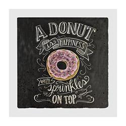 Jojo Tasarım JJDK-012 Donut Duvar Panosu - 20x20 cm