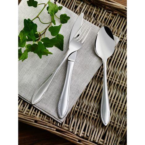 Resim  Pierre Cardin 71113116 12 Kişilik Çelik Çatal Bıçak Kaşık Takımı Baronet - Gümüş