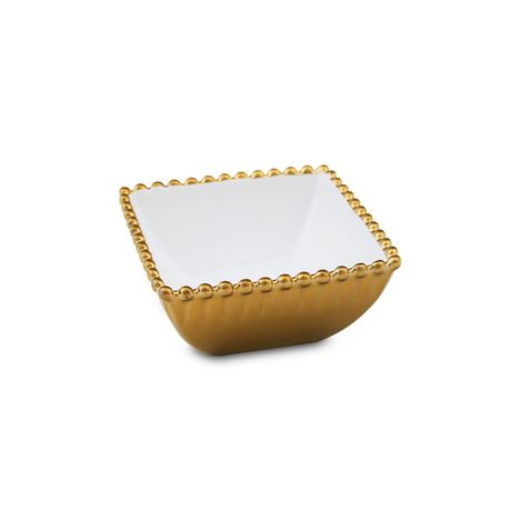 Resim  Pierre Cardin 71115330 Porselen Bright Çerezlik (Altın) - 10 cm