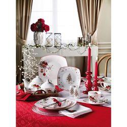 Pierre Cardin 71108938 6 Kişilik Crown Bone China Christmas Kahvaltı Takımı