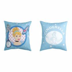 Taç Prensesler Cinderella Kırlent - 40x40 cm