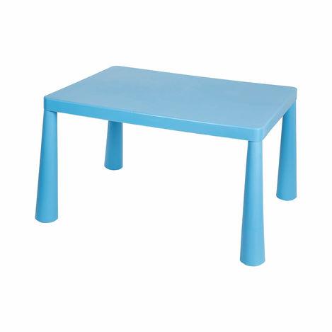 Resim  Modüler Mini Çocuk Masası - Mavi
