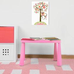 Modüler Mini Çocuk Masası - Pembe