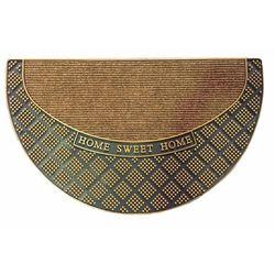 Giz Home Yarımay Sand Home Sweet Home Kapı Paspası - 45x75 cm