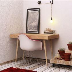 Mymob Valencia Meşe Çalışma Masası - Meşe