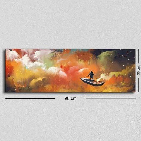 Resim  Özgül TUF-004 Kanvas Tablo - 30x90 cm