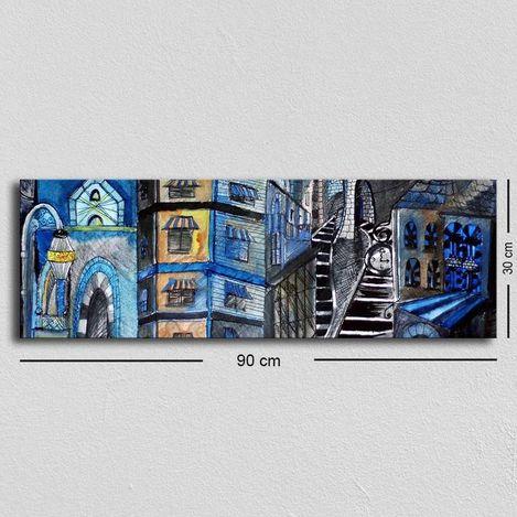Resim  Özgül Grup TUF-028 Kanvas Tablo - 30x90 cm