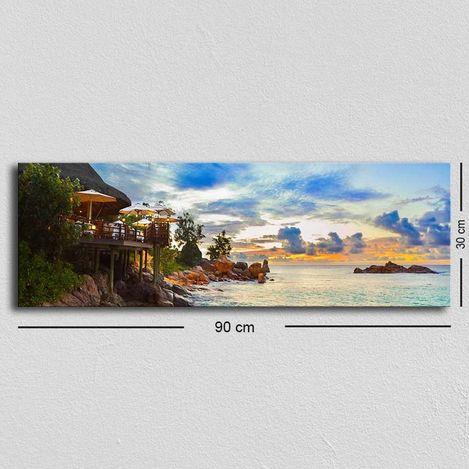 Resim  Özgül TUF-029 Kanvas Tablo - 30x90 cm