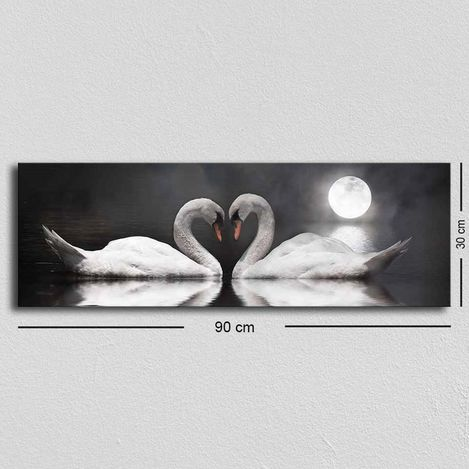 Resim  Özgül TUF-032 Kanvas Tablo - 30x90 cm