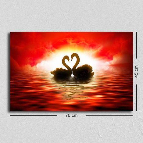Resim  Özgül TUF-001 Kanvas Tablo - 45x70 cm