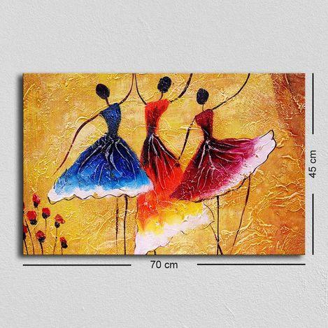 Resim  Özgül TUF-047 Kanvas Tablo - 45x70 cm