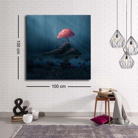 Resim  Özgül C-010 Kanvas Tablo - 100x100 cm