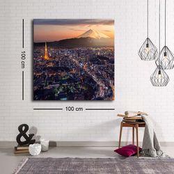 Özgül C-012 Kanvas Tablo - 100x100 cm
