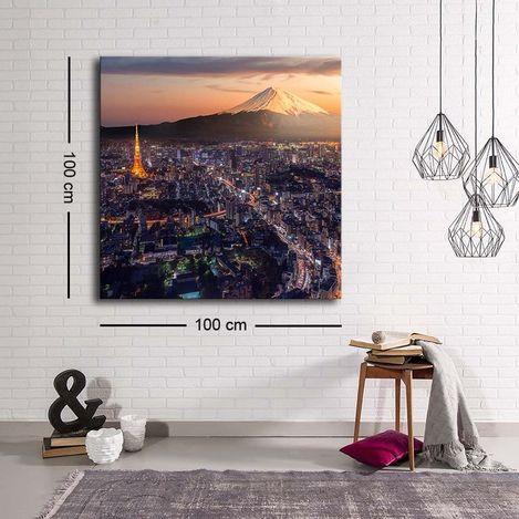Resim  Özgül C-012 Kanvas Tablo - 100x100 cm