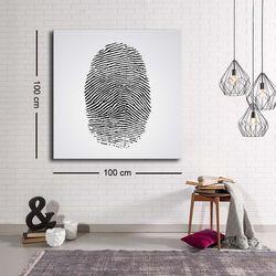 Özgül C-020 Kanvas Tablo - 100x100 cm
