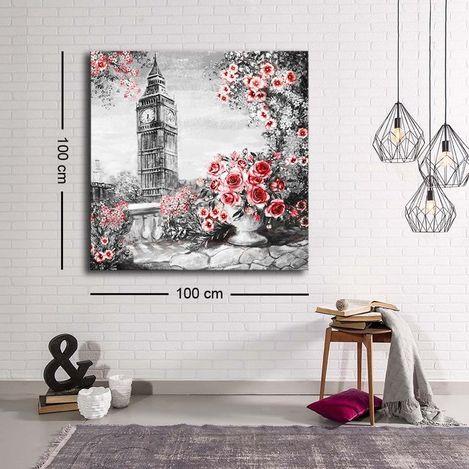 Resim  Özgül C-021 Kanvas Tablo - 100x100 cm