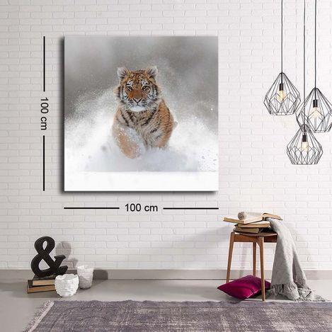 Resim  Özgül Grup C-022 Kanvas Tablo - 100x100 cm