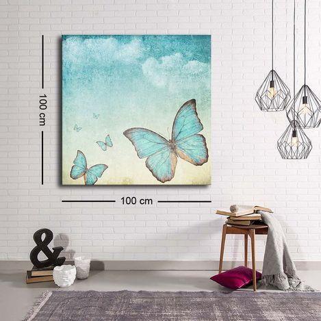 Özgül Grup C-045 Kanvas Tablo - 100x100 cm