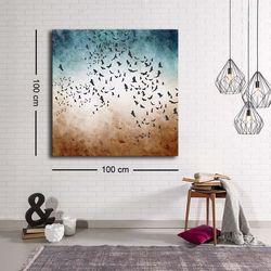 Özgül C-047 Kanvas Tablo - 100x100 cm