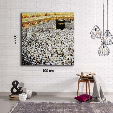 Resim  Özgül C-049 Kanvas Tablo - 100x100 cm