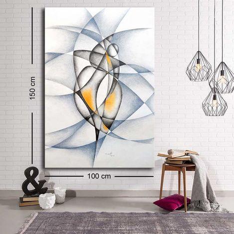 Resim  Özgül Grup C-004 Kanvas Tablo - 100x150 cm