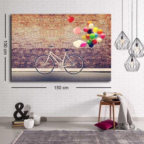 Resim  Özgül C-008 Kanvas Tablo - 100x150 cm