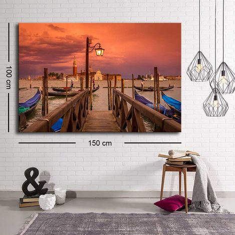 Resim  Özgül C-011 Kanvas Tablo - 100x150 cm