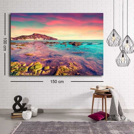 Resim  Özgül C-015 Kanvas Tablo - 100x150 cm