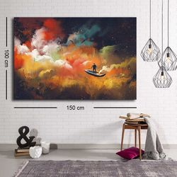 Özgül C-019 Kanvas Tablo - 100x150 cm