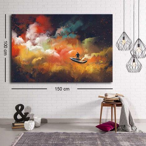 Resim  Özgül C-019 Kanvas Tablo - 100x150 cm