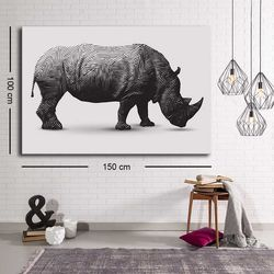 Özgül C-027 Kanvas Tablo - 100x150 cm