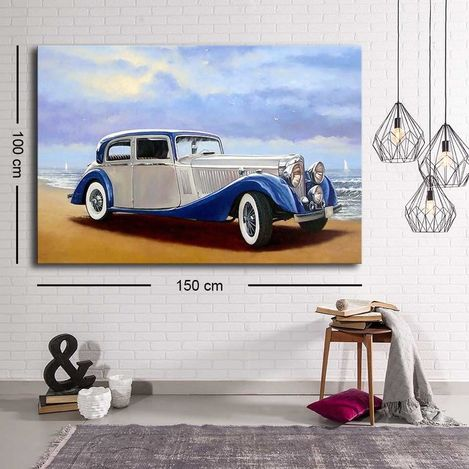 Resim  Özgül C-029 Kanvas Tablo - 100x150 cm