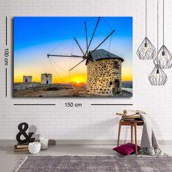 Özgül C-030 Kanvas Tablo - 100x150 cm