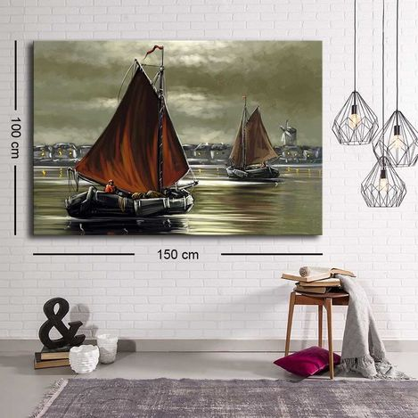 Resim  Özgül C-038 Kanvas Tablo - 100x150 cm