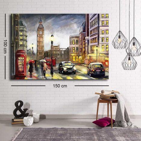 Resim  Özgül Grup C-044 Kanvas Tablo - 100x150 cm